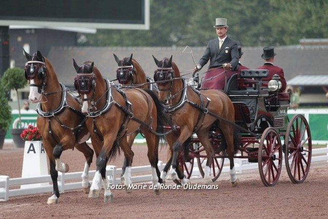 Chester Weber Holds Lead as Top Driver in the  World on FEI Four-in-Hand Standings