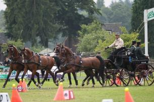 Team Weber Wins Cones Phase and  Finishes in Top Five at Beekbergen CAI 3