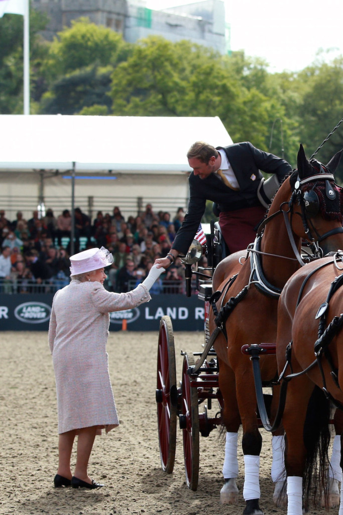 Royal Redux:  Chester Weber Claims Second Royal  Windsor Horse Show Four-in-Hand Victory