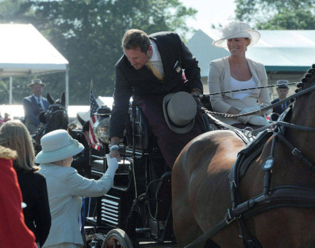 A Royal Win: USA's Chester Weber Rules at Royal Windsor Horse Show