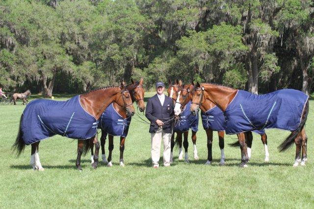 Horseware® Ireland Rides with Team Weber for Another World Equestrian Games