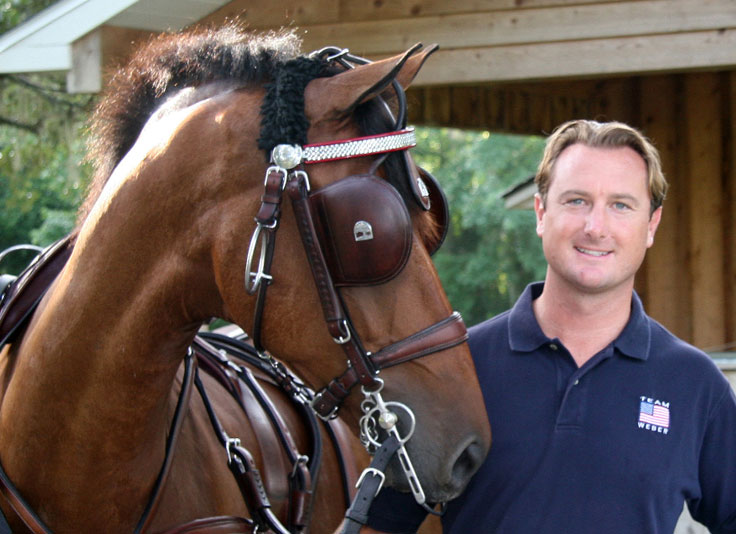 Combined Driver Chester Weber Joins Professional  Round Table Discussion at Kentucky Equine Research's  Sport Horse Forum
