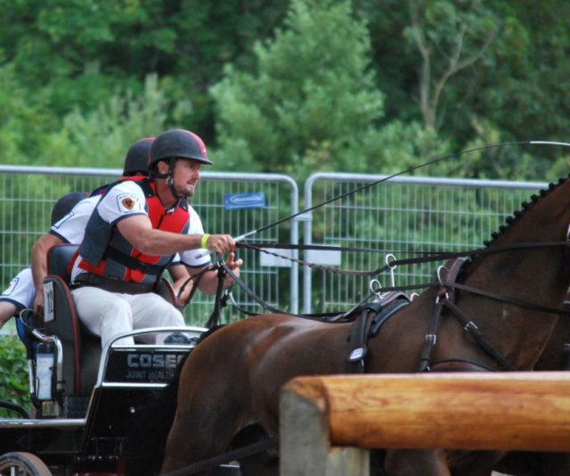 Chester Weber's Sponsor, Cosequin® Joint Health  Supplement Becomes Official  Team Weber Marathon Carriage Sponsor
