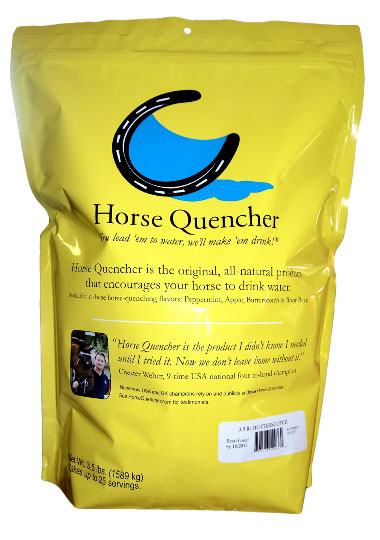 Thirsty for Success, Chester Weber's Horses Earn Him Silver  and a Spot on Horse Quenchers New Eco-Friendly Pouch