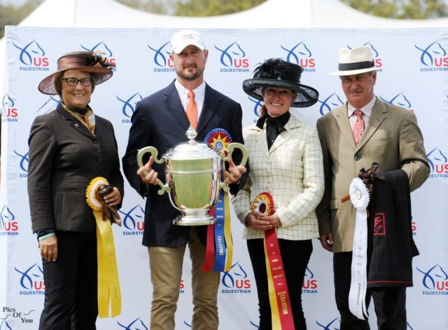 Chester Weber Cinches 14th  USEF Four-in-Hand National Championship