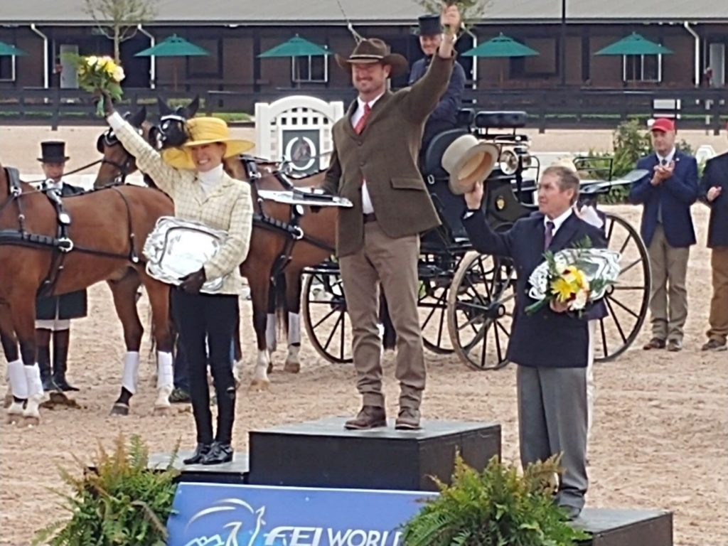 Chester Weber Wins FEI World Equestrian Games Test Event