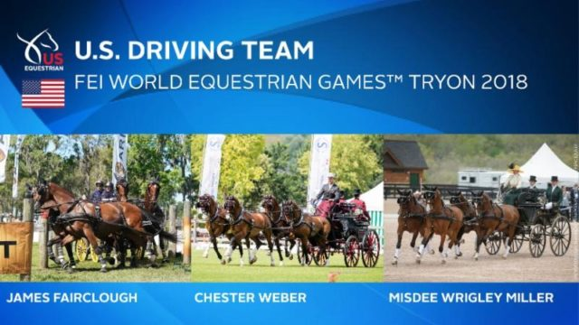 US Equestrian US Equestrian Names U.S. Driving Team for FEI World Equestrian Games™ Tryon 2018