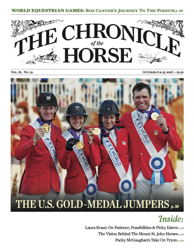 Weber Leads U.S. Team To Long-Awaited WEG Gold Medal